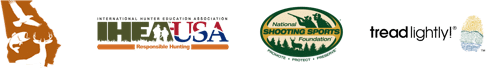 GADNR IHEA NSSF and Tread Light logos