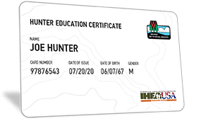 Wisconsin hunter education certificate