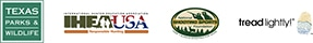 TPWD, IHEA, NSSF and Tread Lightly logos